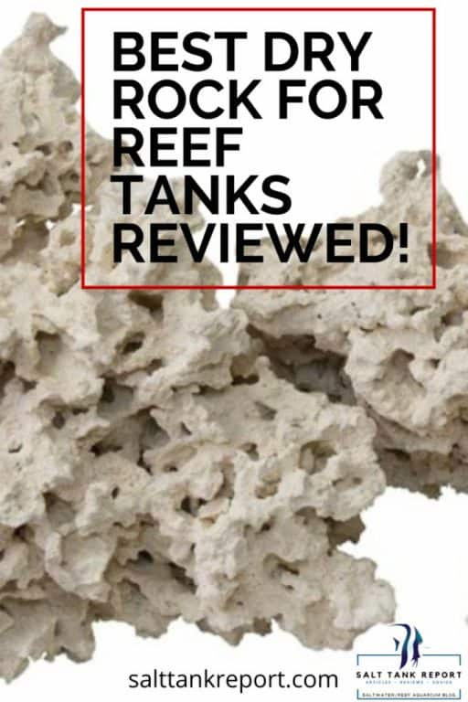 best dry rock for reef tanks