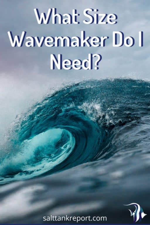 what size wavemaker do i need?