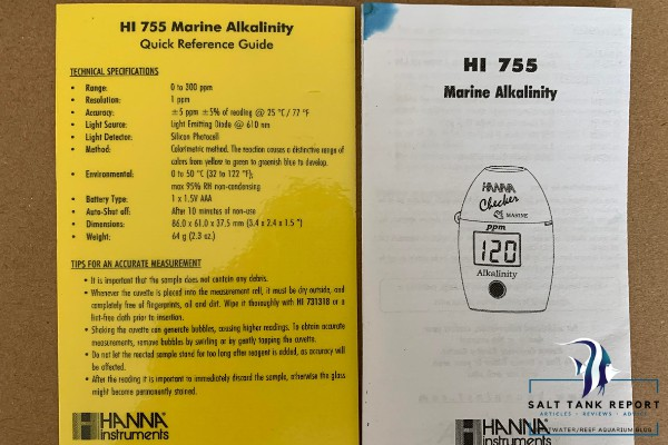 Hanna Instruments Alkalinity Checker