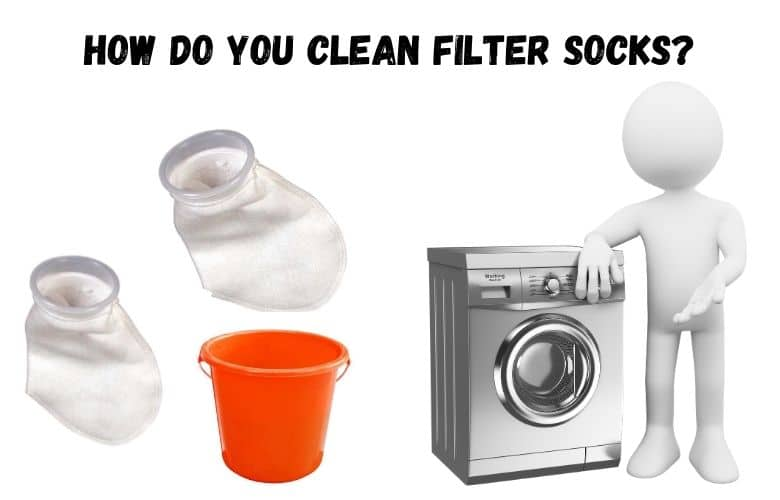 how to clean filter socks